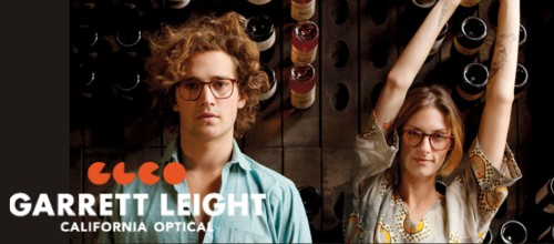 Eyeglasses and sunglasses from Garrett Leight Opical California
